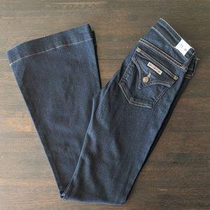 Hudson Ferris Flare Jeans, size 25